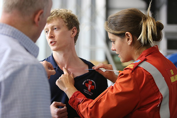 Dorset & Somerset Air Ambulance training