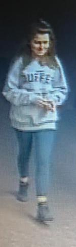 CCTV photo of missing teenager