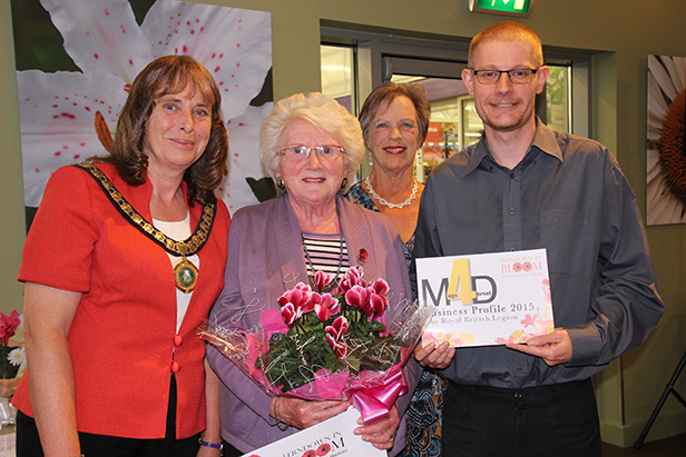 Ferndown in Bloom 2015 business winner