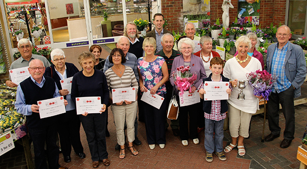Ferndown in Bloom 2015 winners
