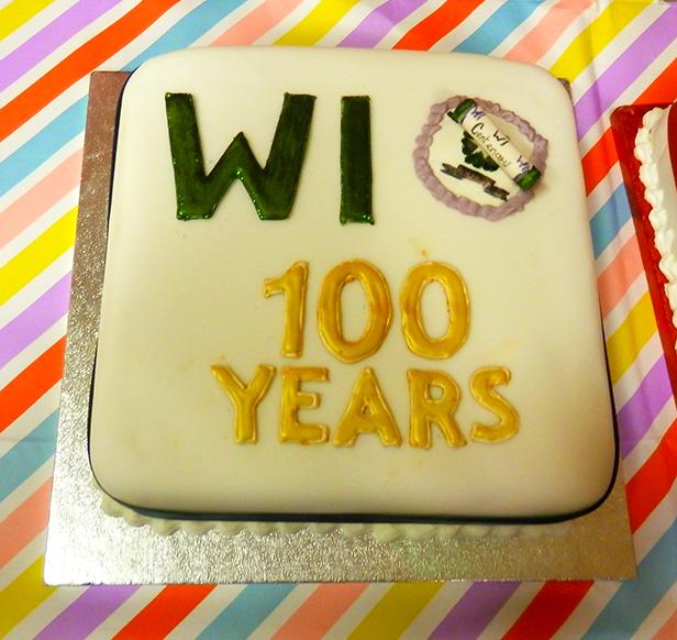 Women's Institute 100 years cake