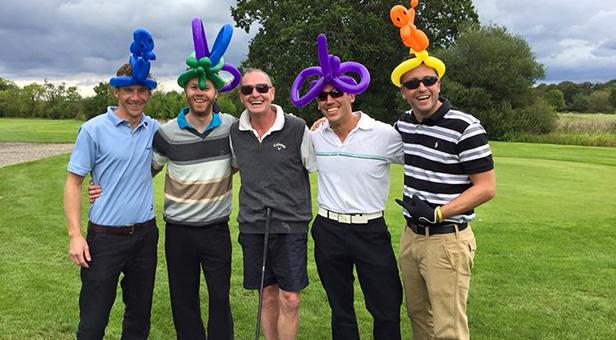 Sarah Green Golf Day for Macmillan Cancer Charity