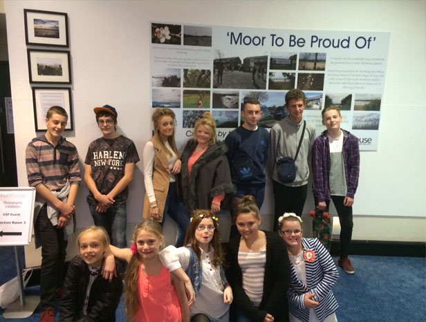 Young people from Turlin Moor created the project at Lighthouse, Poole