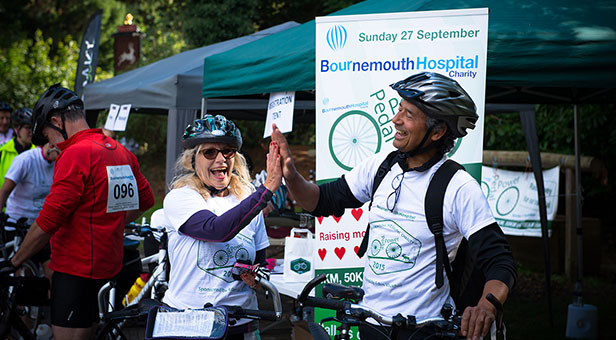 Bournemouth Hospital Charity's cycling event Pedal Power