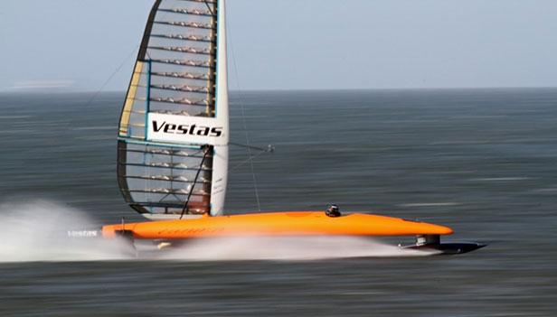 Weymouth Speed Week: Vestas Sail Rocket 2
