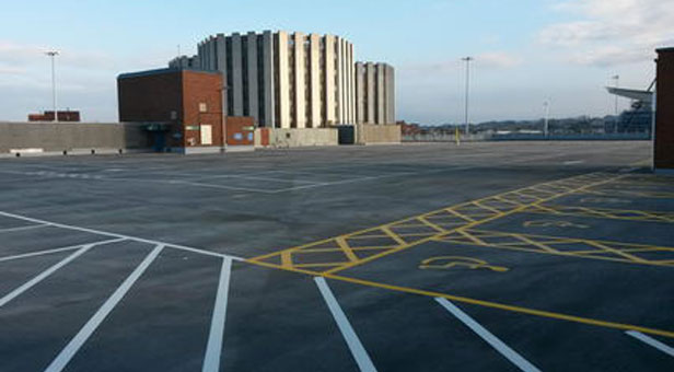 Shoppers 1 car park after the extensive repair work.