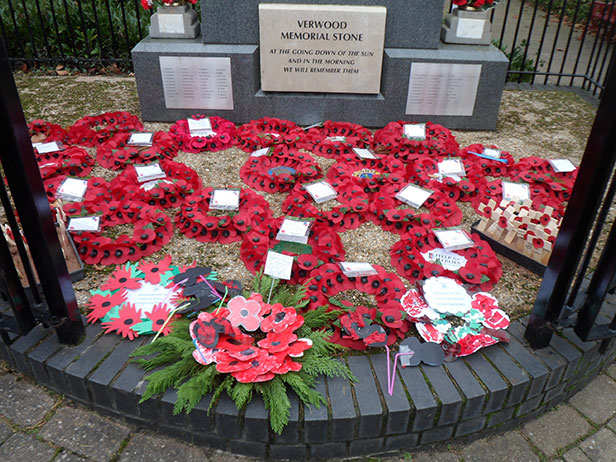 Verwood Memorial Armistice Day