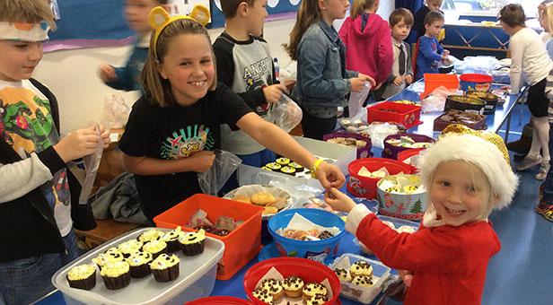 Hillside Community First School, Children in Need fundraiser