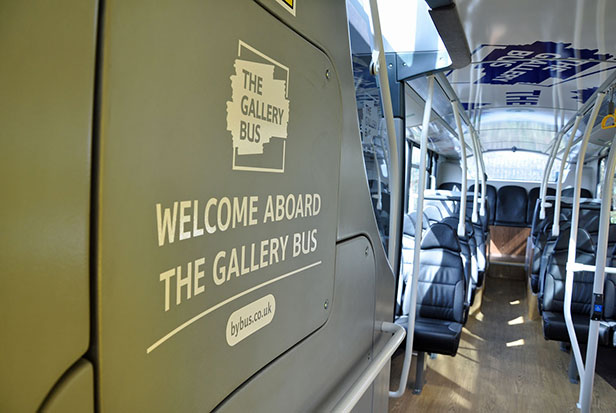 Welcome Aboard The Gallery Bus