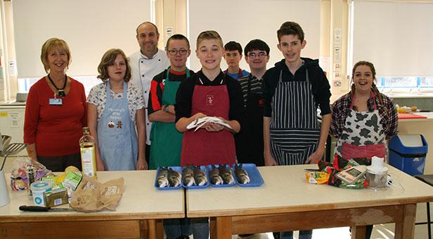 Twynham School cookery course