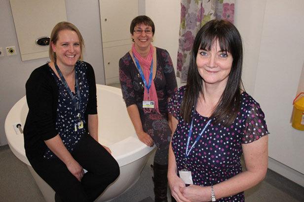 Bournemouth Birth Centre's first birthday