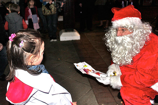 Last year's Christmas Lights Switch On in Ferndown