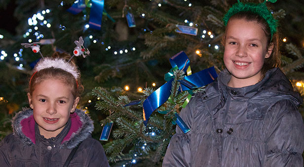 Lewis-Manning Hospice's Light up a Life service