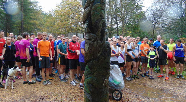 Over 400 runners, including 10 from Christchurch and East Dorset District Council, braved the wind and rain to be part of the first parkrun at Moors Valley Country Park on 7 November