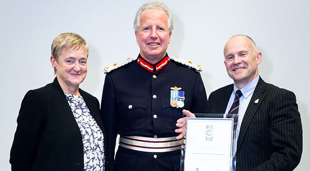 Dorset HealthCare Silver Defence Employer Recognition Scheme Award
