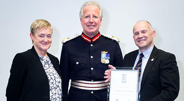 Dorset HealthCare Silver Defence Employer Recognition Scheme Award