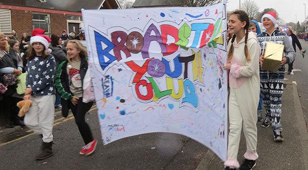 Broadstone Christmas Parade