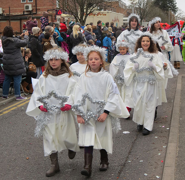 Broadstone Christmas Parade Angels
