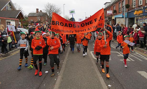 Broadstone Christmas Parade Broadstone FC