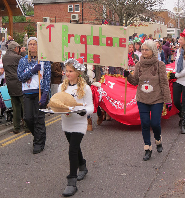 Broadstone Christmas Parade Guides