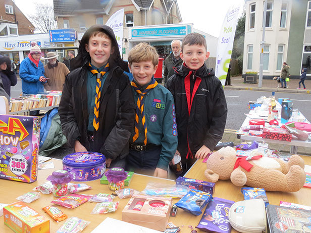 Broadstone Christmas Parade Scouts