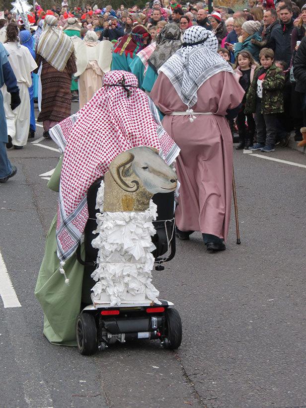 Broadstone Christmas Parade Shephards