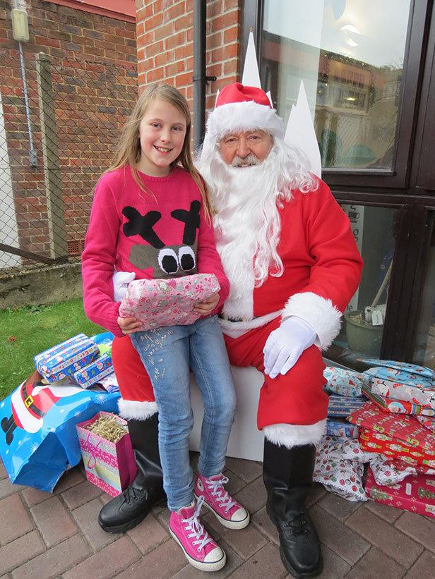 Santa in Broadstone