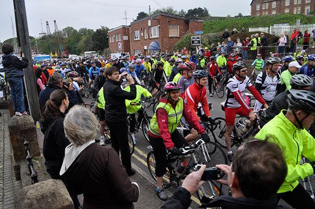 Dorset and Somerset Air Ambulance Coast to Coast cycle challenge