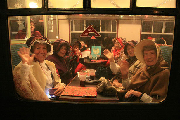 Swanage Railway Christmas carols