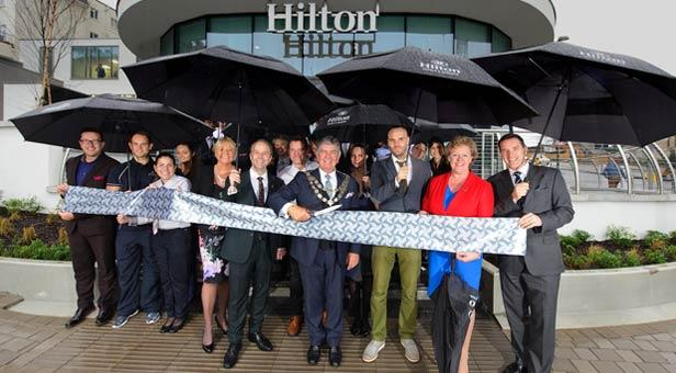 Hilton-Cut-Ribbon