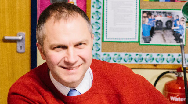 Devoted husband, father, son and brother. A loyal friend and inspirational headteacher: Paul Miller