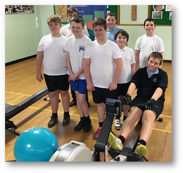 St Michael's School rowers