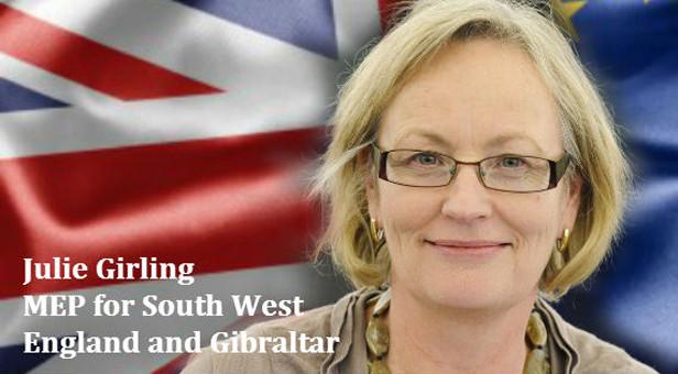 MEP Julie Girling
