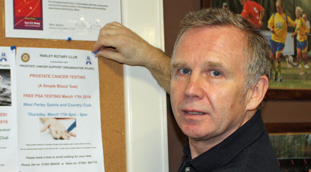 Paul Reade was diagnosed and treated early - now its checks to confirm he remains clear