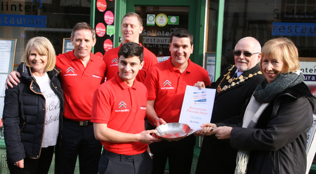 Business winners Penton Motor Group celebrate
