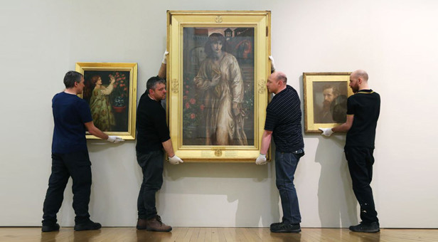Rossetti's masterpieces: Three major works by Rossetti identified by Duke's go on show in an exhibition at The Walker Art Gallery in Liverpool