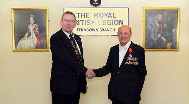Ferndown veteran