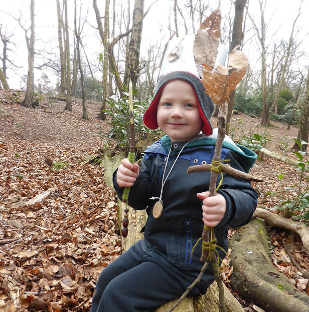 Forest School fun Dorset Wildlife Trust