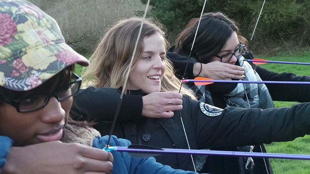 Archery at Moors Valley