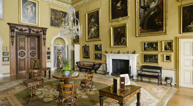 The Saloon at Kingston Lacy © National Trust Images / Andreas von Einsiedel