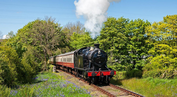 Bodmin and Wenford Railway.