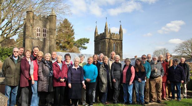 Volunteers from the Model Town Winter Workshop Programme (Greg Hoar