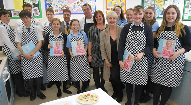 Christchurch Food Festival cookery challenge at Twynham School