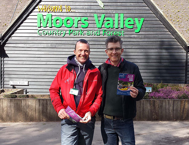 Gareth Malone OBE at Moors Valley Country Park