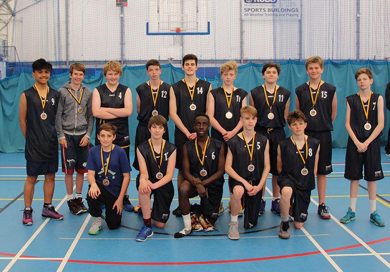 Dorset County Basketball Boys Team
