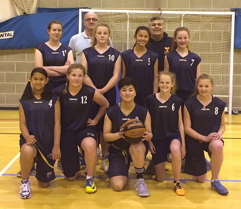 Dorset County Basketball Girls Team