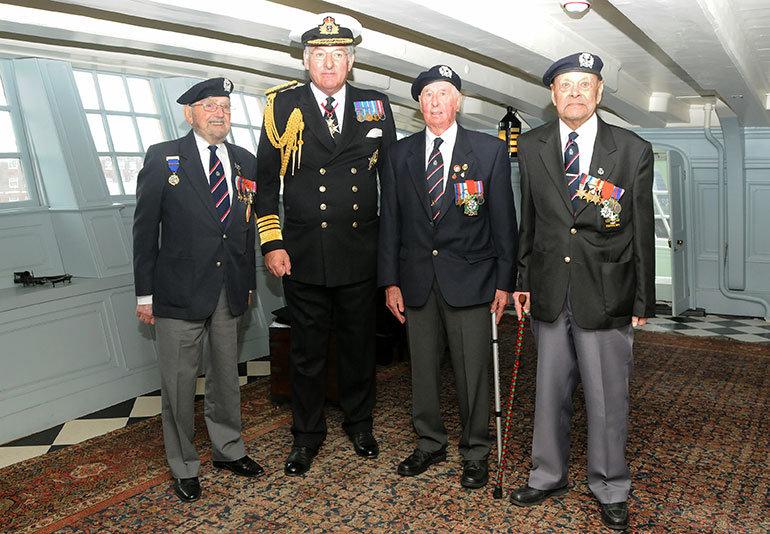 Royal Naval Association veterans