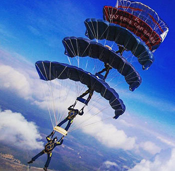 Tigers Freefall Parachute Display Team