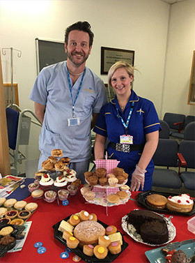 Kelly Lockyer, dementia nurse specialist and Kevin Hall, dementia training officer from the Dementia Team at the Royal Bournemouth Hospital