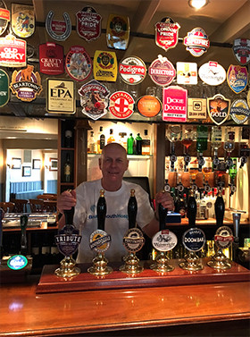 Roly Frost, pub landlord